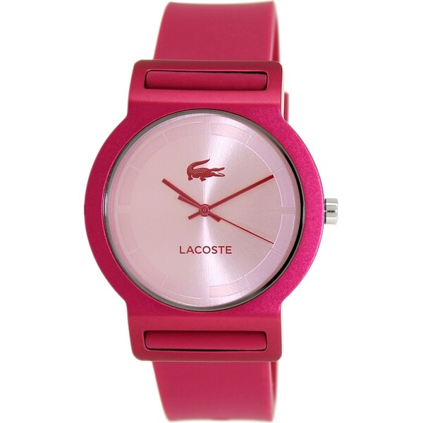 Lacoste Women's Tokyo 2020077 Magenta Silicone Analog Quartz Watch