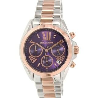 Michael Kors Women's Bradshaw MK6074 Silver Stainless-Steel Quartz Watch