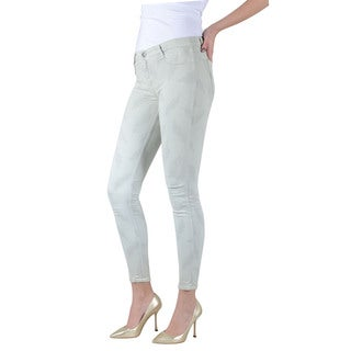 Women's Bleulab Green Reversible Skinny Jean