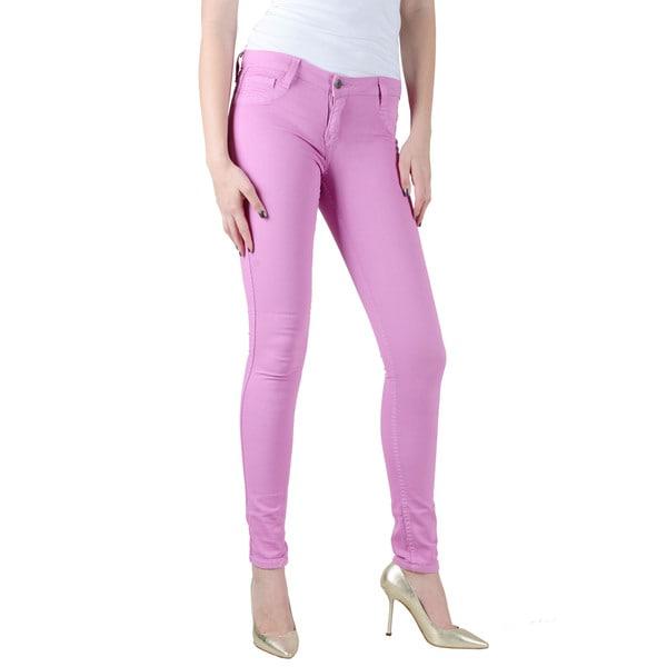 Women's Bleulab Pink Reversible Skinny Jean