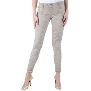 Women's Bleulab Brown Reversible Jeans