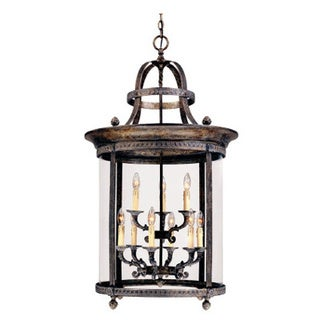 Chatham Collection French Bronze 9-light Hanging Interior Lantern