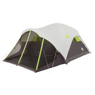 Coleman Steel Creek 6-person Fast Pitch Dome Tent with Screenroom