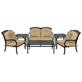 Princeton Commercial Grade 6-piece Deep Seating Conversation Set with Cushions