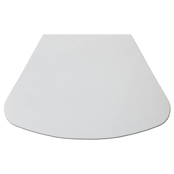 CounterArt Wedge Shaped Clear Acrylic Placemats (Set of 4)