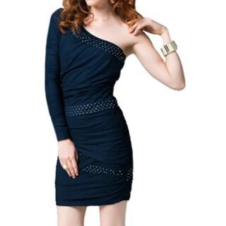 Sara Boo One Shoulder Short Club Dress
