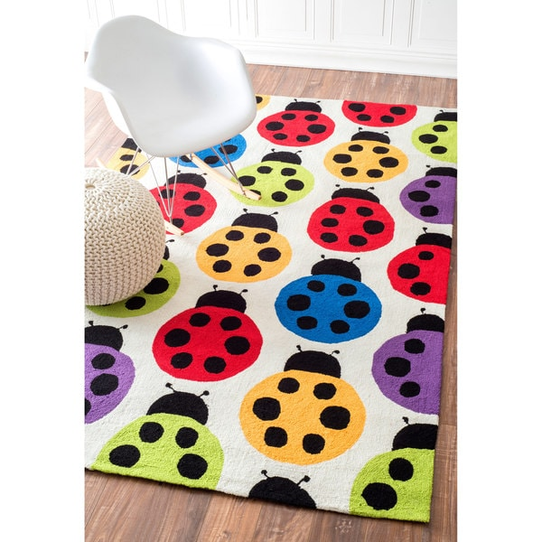 nuLOOM Handmade Dvzk shoes Kids Bright Multi Rug (5' x 8')
