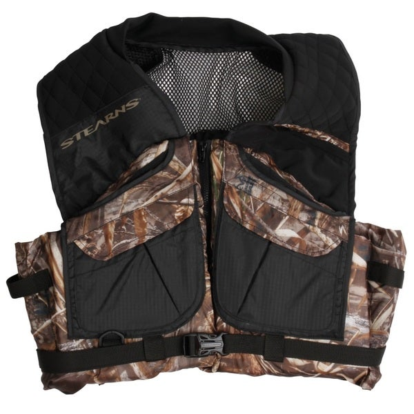 Stearns Pfd Adult Comfort Series Vest Max-5 Camo