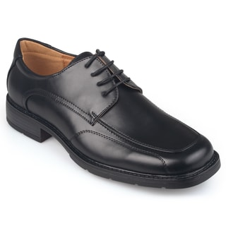 Vance Co. Men's Square Toe Lace-up Dress Shoes
