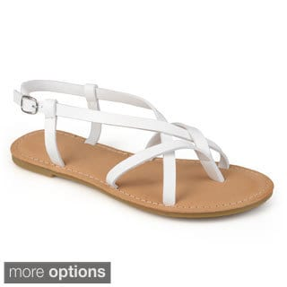Journee Collection Women's 'Iris' Strappy Sling-back Sandals