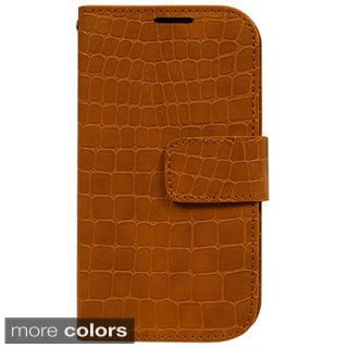 Gavialis Synthetic Leather Wallet Case for Apple iPhone 6