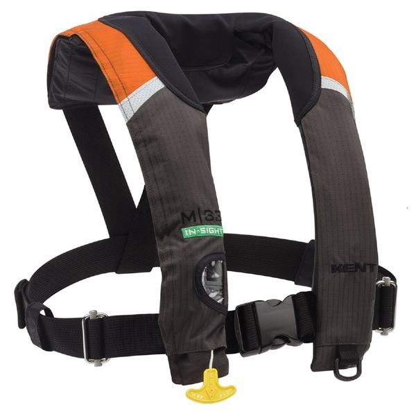 Onyx Outdoor M-33 Manual Inflatable Life Jacket