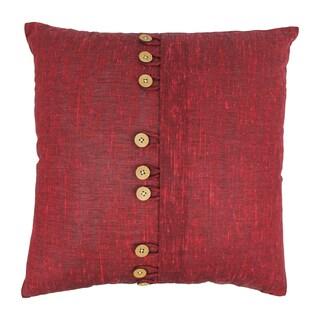 Blazing Needles 20-inch 9-Button Throw Pillow