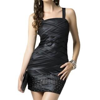 Sara Boo Sleveless Little Black Mini Dress