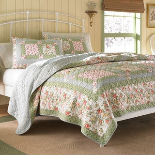 Laura Ashley Abbot Patchwork Quilt