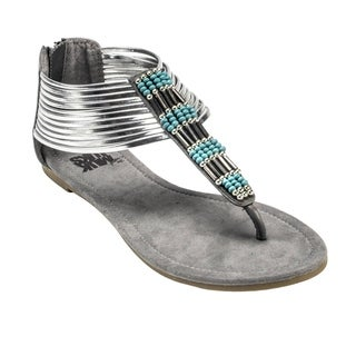 Muk Luks Women's Lola Beaded Sandals