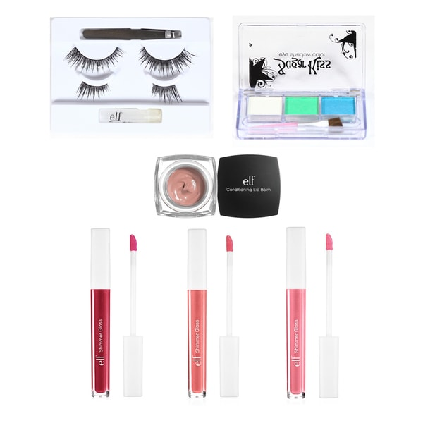 e.l.f. Lip and Eye Shimmer Collection 7-piece Set