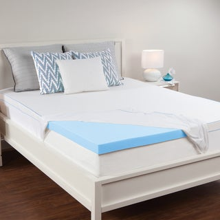 Sealy Premium 2.5-inch Memory Foam Mattress Topper with Removeable Cover