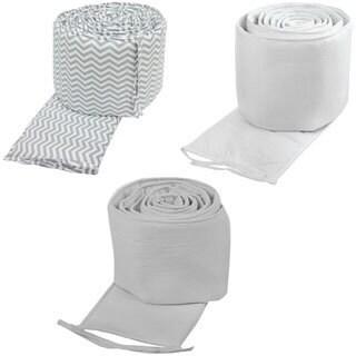 American Baby Company Cotton Percale Crib Bumper