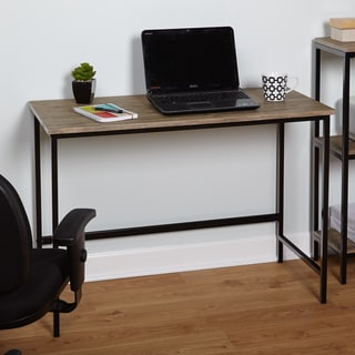 Simple Living Piazza Wood and Metal Desk