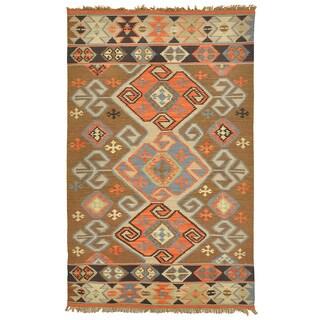Kosas Collections Cosima Indoor/ Outdoor Poly Kilim 8 x 10