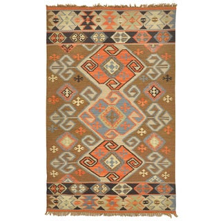 Kosas Collections Cosima Indoor/ Outdoor Poly Kilim 4 x 6