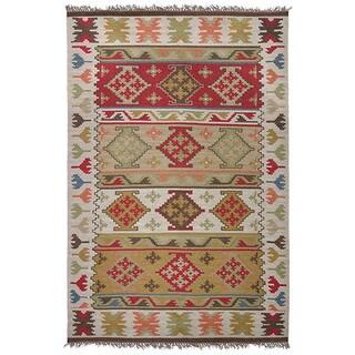Kosas Collections Lia Indoor/ Outdoor Poly Kilim (8 x 10)