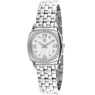 ESQ Women's 7101277 Hampshire Round Silvertone Bracelet Watch