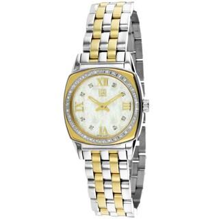 ESQ Women's 7101278 Hampshire Round Two-tone Bracelet Watch