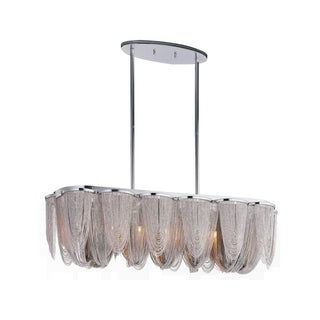 Maxim Lighting Chantilly 7-light Chrome Pendant