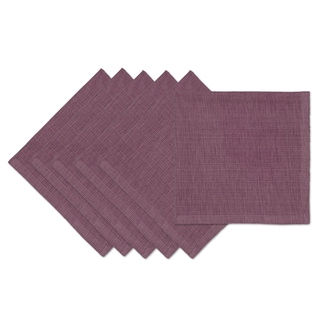 Plum Tonal Napkin (Set of 6)