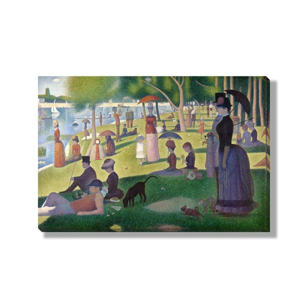 Georges Seurat's 'A Sunday on La Grande Jatte' Gallery Wrapped Canvas