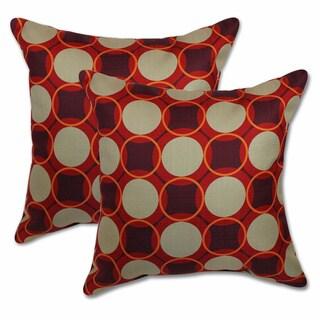 Big Tree Furniture Aura Fiesta 22-inch Decorative Throw Pillows (Set of 2)