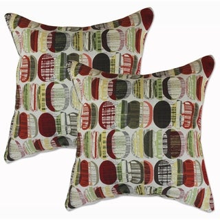 Big Tree Furniture 22-inch Decorative Throw Pillows (Set of 2)