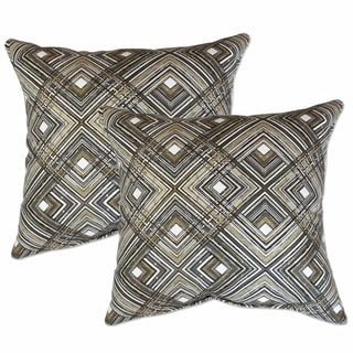 Big Tree Furniture 22-inch Decorative Throw Pillows (set of 2)