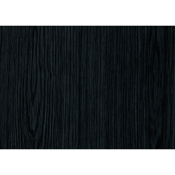 Black Wood Adhesive Film