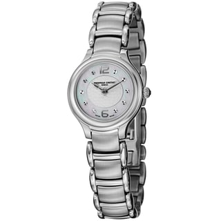 Frederique Constant Women's FC-200WA1ER6B Junior Stainless Steel Mother of Pearl Dial Quartz Watch
