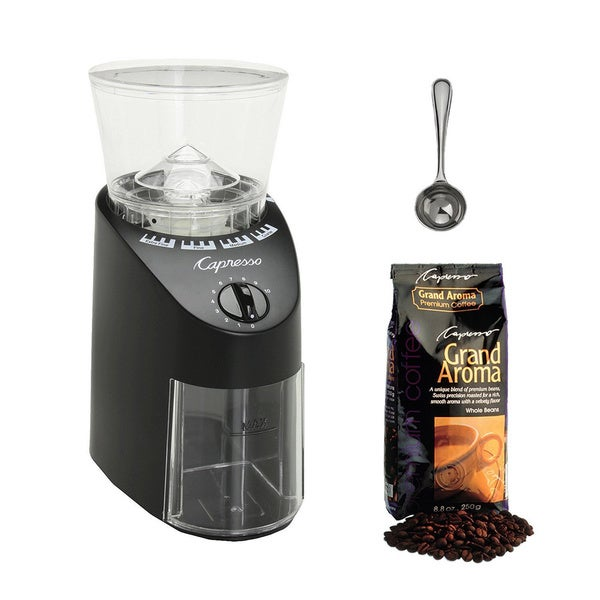 Capresso Jura Infinity Conical Burr Coffee Grinder 14828679