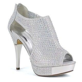 Celeste Women's Anastasia-01 High Heel d'Orsay Pumps