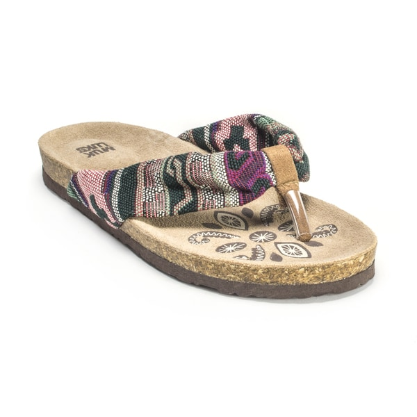 Muk Luks Women's 'Willow' Purple Sandals
