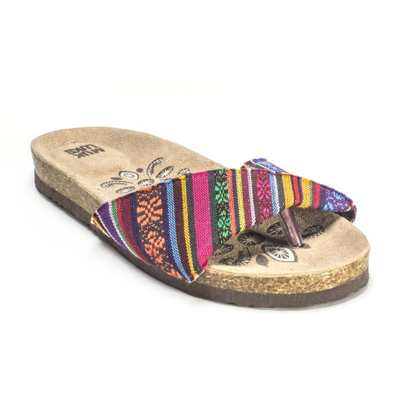 Muk Luks Women's 'Lucy' Folded Strap Sandals