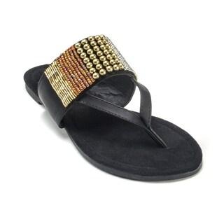 Muk Luks Women's 'Iris' Beaded Sandals