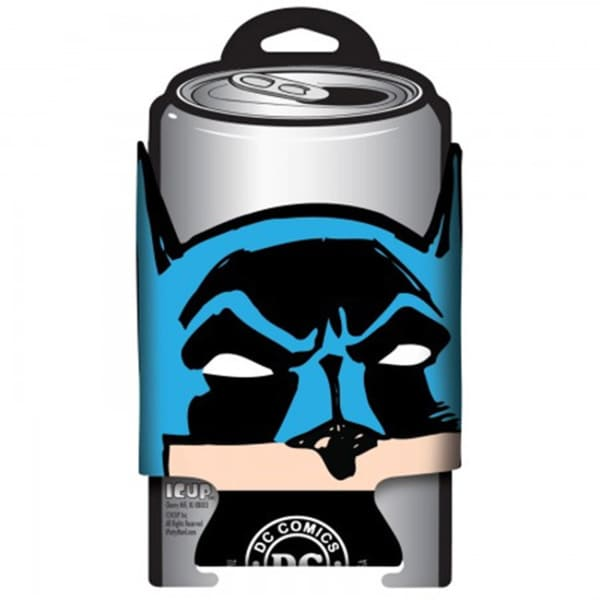 DC Comics Batman Face Soda Can Cooler Koozie