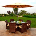 the-Hom Obero 8-piece Outdoor Wicker Dining Set