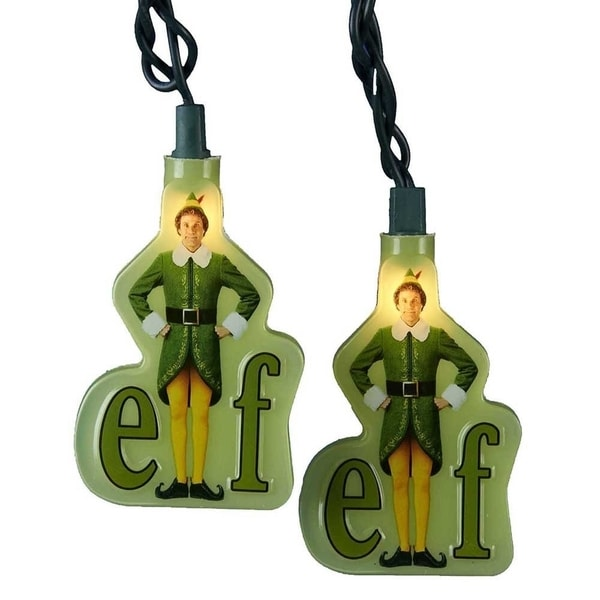 Buddy The Elf Green String Christmas Lights Elf Movie