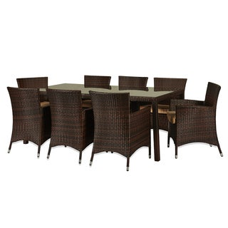 Doha 9-piece Outdoor Wicker Dining Set
