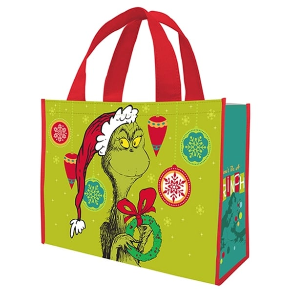 Dr. Seuss The Grinch Who Stole Christmas Large Shopper Tote Bag