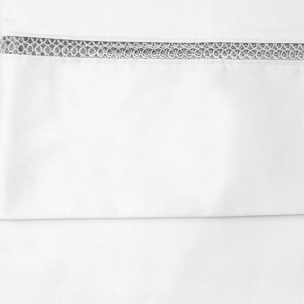 Grand Luxe Egyptian Cotton Duetta 1200 TC Deep Pocket Sheet Separates (As Is Item)