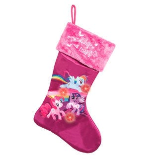 My Little Pony Friendship Is Magic Light-up Christmas Stocking