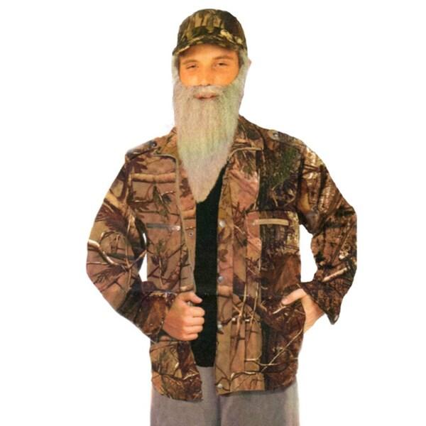 Men's Camouflage Jacket Costume Clothing